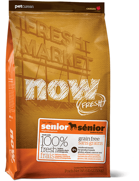 bag of NOW FRESH Senior dog food