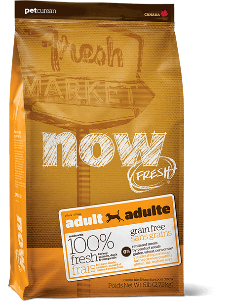bag of NOW FRESH Adult dog food