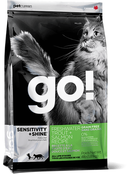 bag of GO! Cats Sensitivity + Shine Trout & Salmon