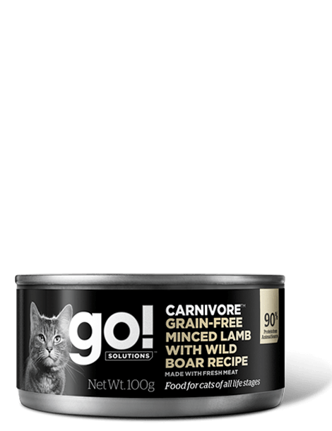 GO! SOLUTIONS CARNIVORE Minced Lamb with Boar