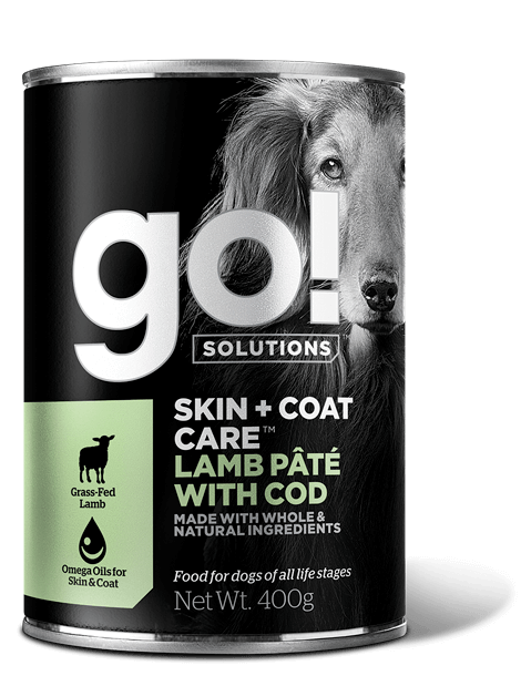 GO! SOLUTIONS SKIN + COAT CARE Lamb Pate