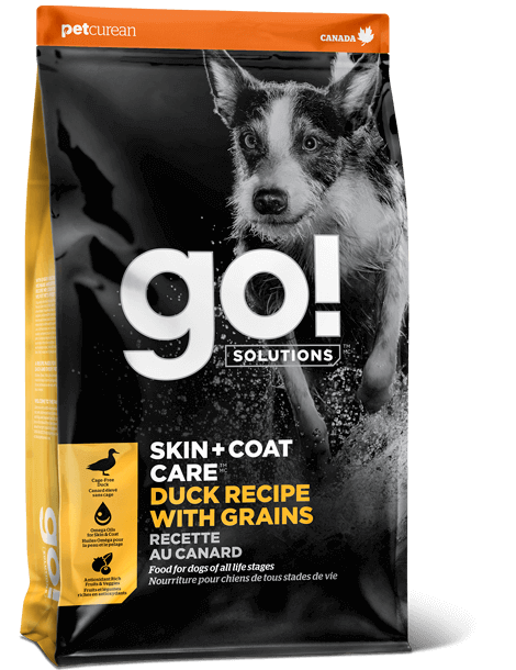 GO! SOLUTIONS SKIN + COAT CARE Duck Recipe With Grains for dogs